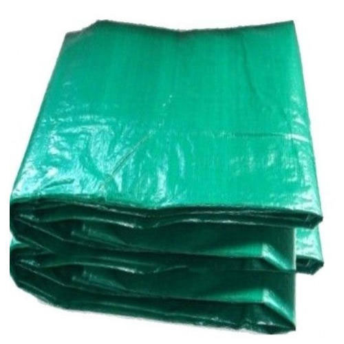 Green Plastic Tarpaulin – With UV protection features