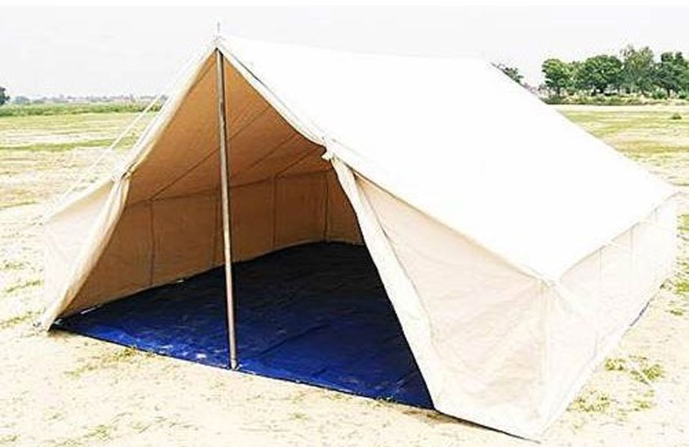 Relief Tent at best price - PVC Relief Tents Exporter from Ahmedabad